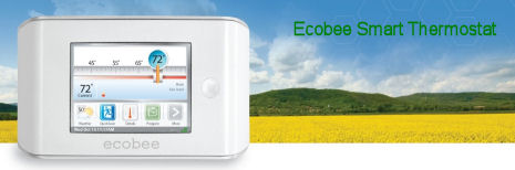 Ecobee, de wifi thermostaat